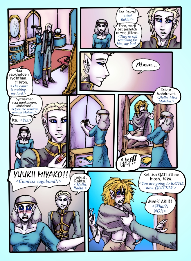 Out of the Darkness Ch 5 Page 7