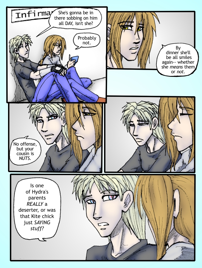 Out of the Darkness Ch 4 Page 21