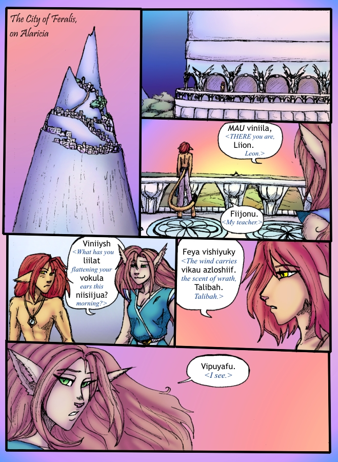 The Siege of Feralis Page 1