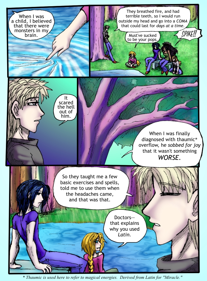 Out of the Darkness Ch 3 Page 22
