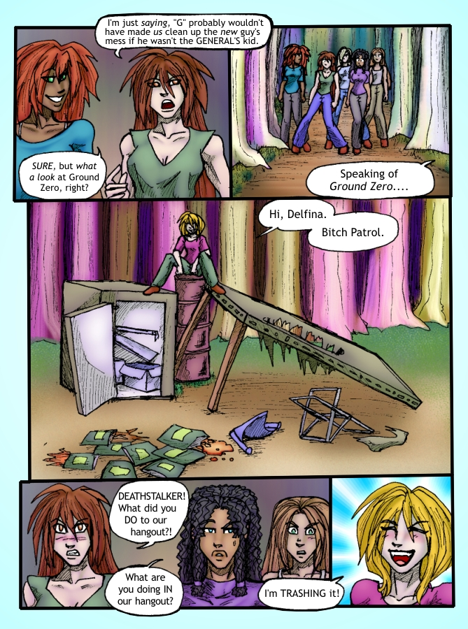 Out of the Darkness Ch 4 Page 4