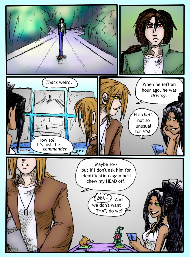 Out of the Darkness Ch 3 Page 8