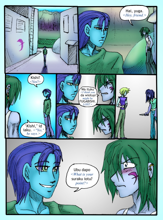 Out of the Darkness Ch 3 Page 2