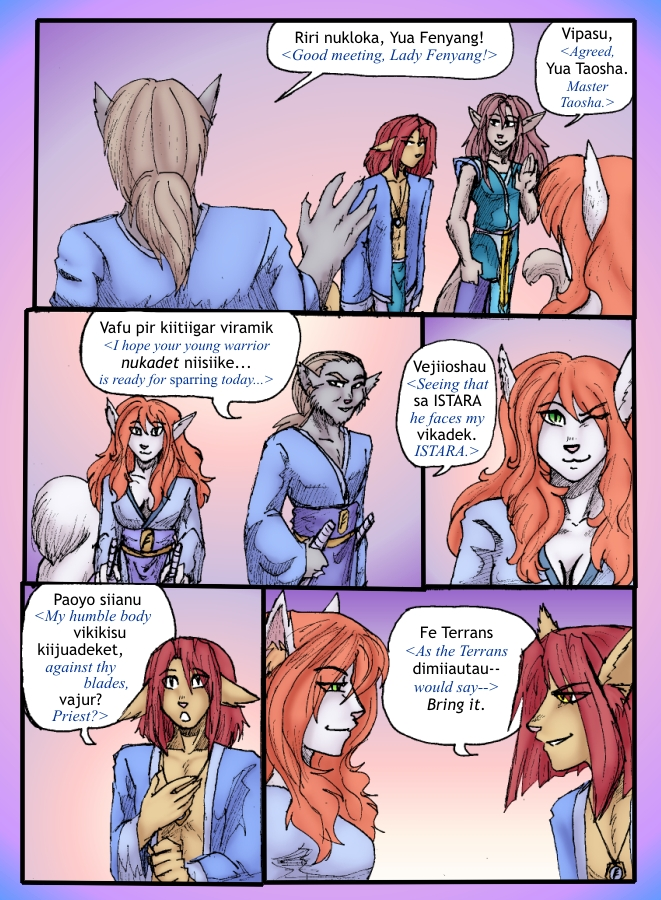 The Siege of Feralis Page 3