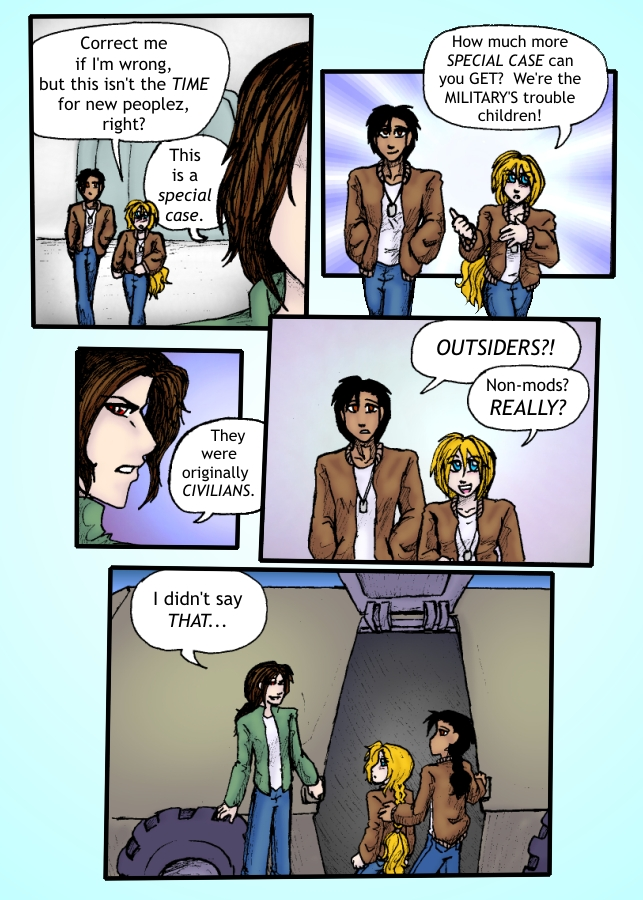 Out of the Darkness Ch 1 Page 8