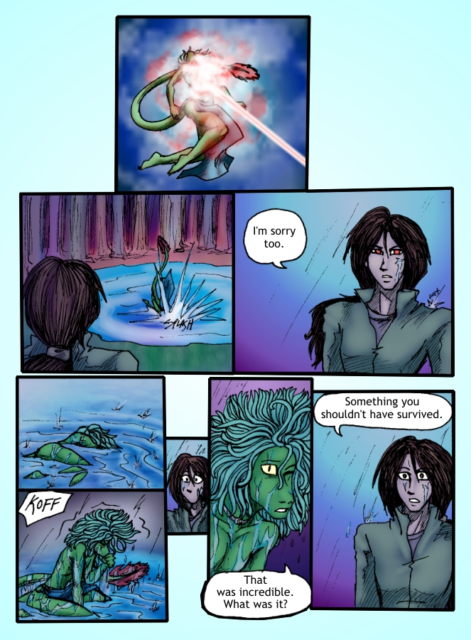 Out of the Darkness Ch 6 Page 5