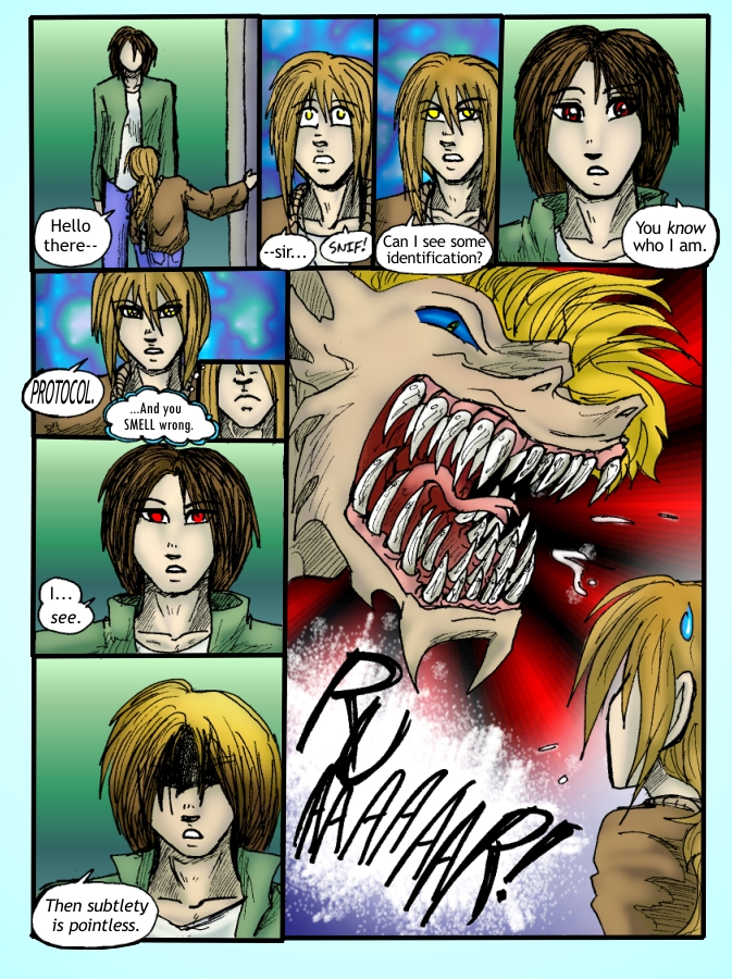 Out of the Darkness Ch 3 Page 9