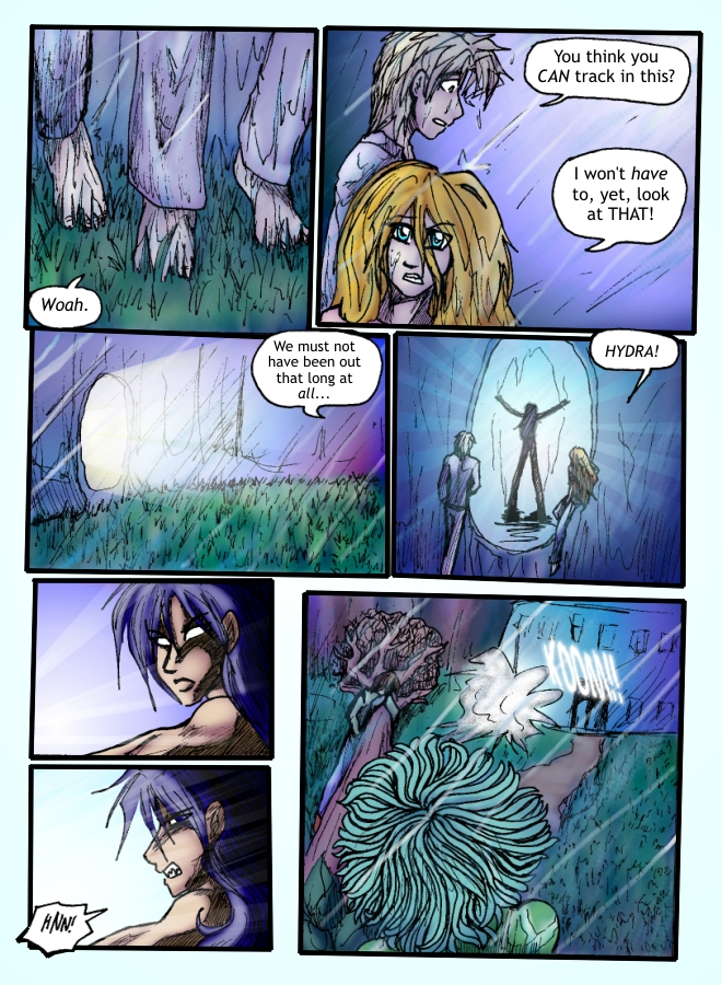 Out of the Darkness Ch 6 Page 10