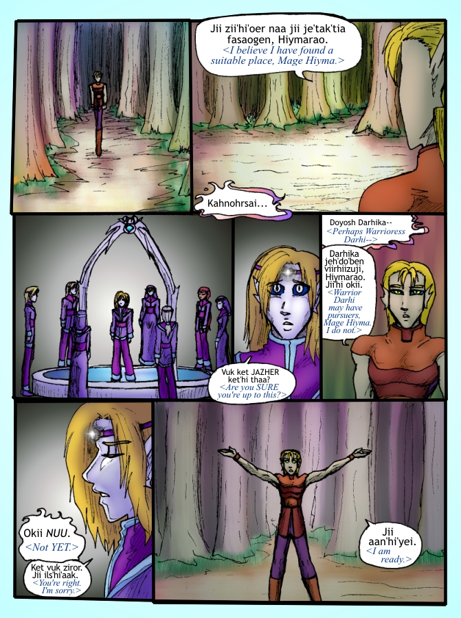 Out of the Darkness Ch 4 Page 23