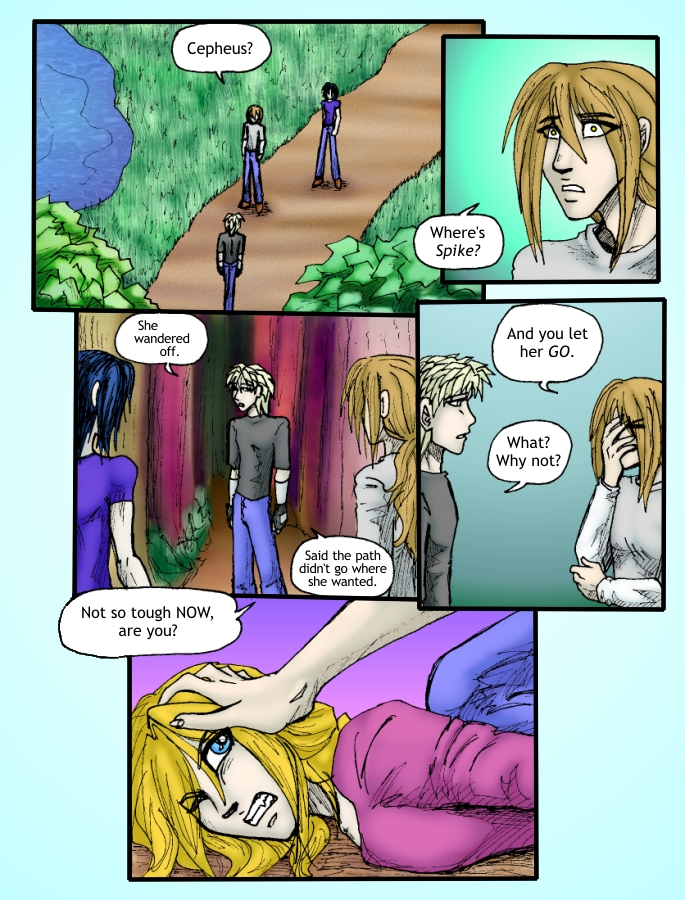 Out of the Darkness Ch 4 Page 8