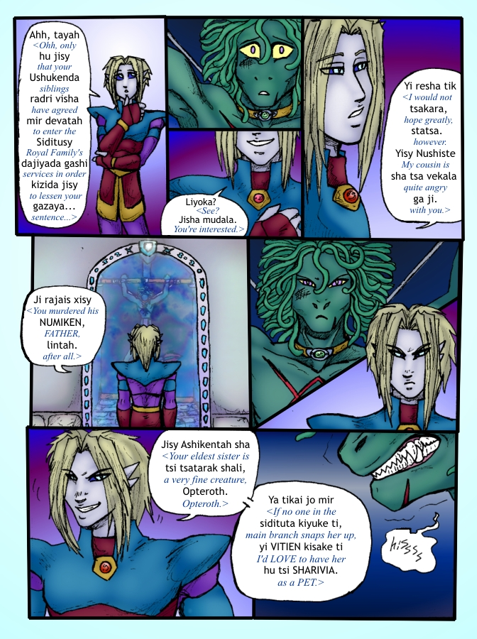 Out of the Darkness Ch 2 Page 12