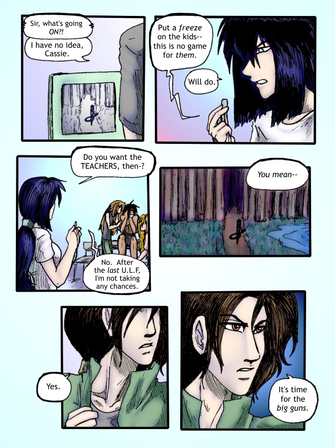Out of the Darkness Ch 5 Page 23