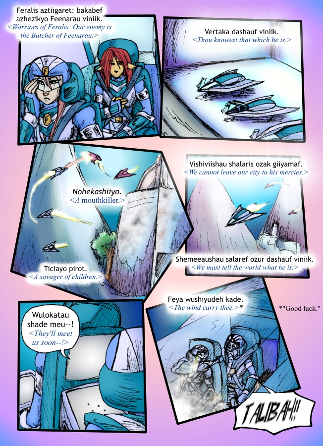 The Siege of Feralis Page 10