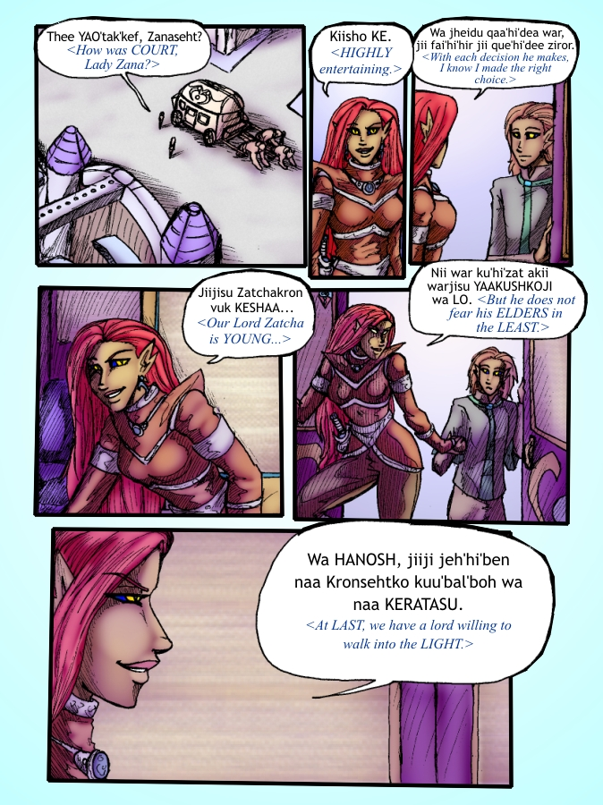 Out of the Darkness Ch 5 Page 13