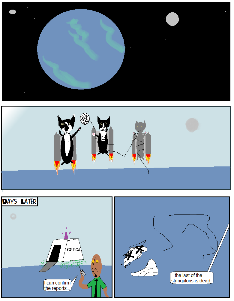 Cats in Space: The Next Generation I