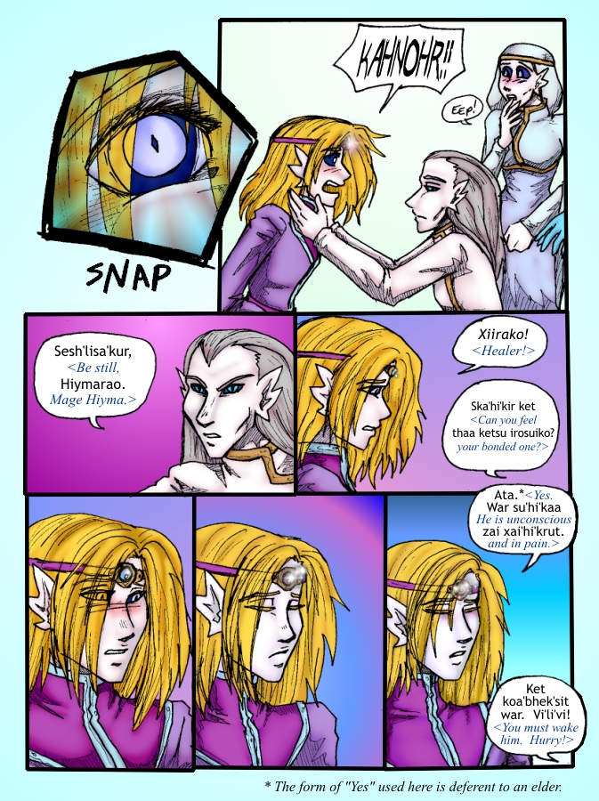 Out of the Darkness Ch 4 Page 3