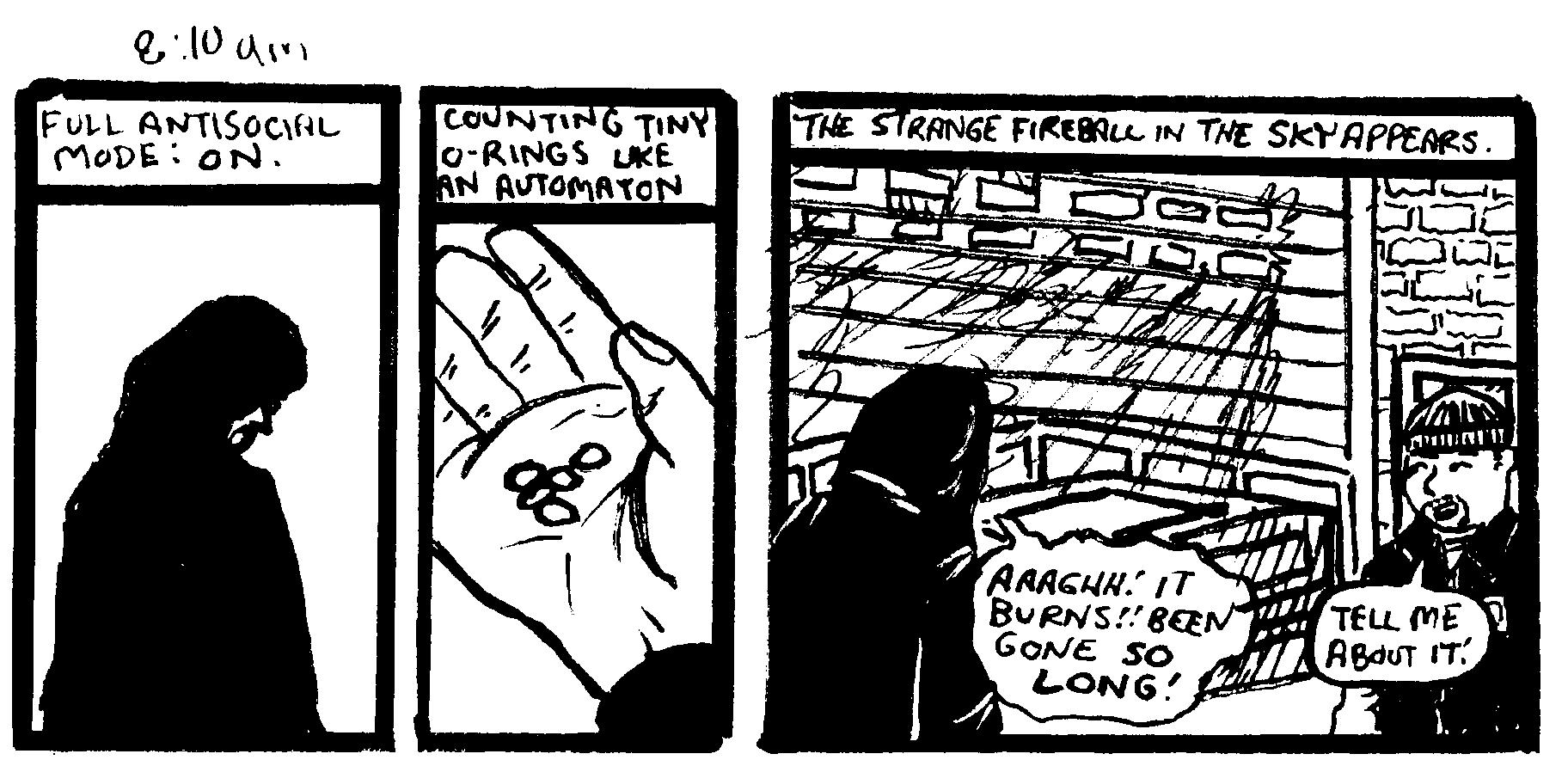 Hourly Comics Day Feb. 1st 2017