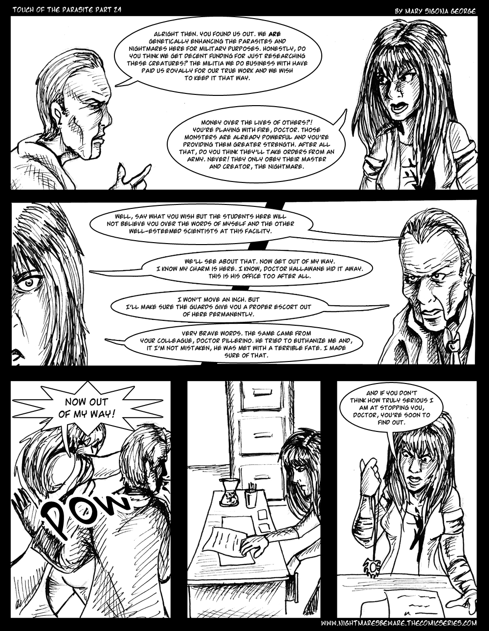 Touch of the Parasite: Part 24
