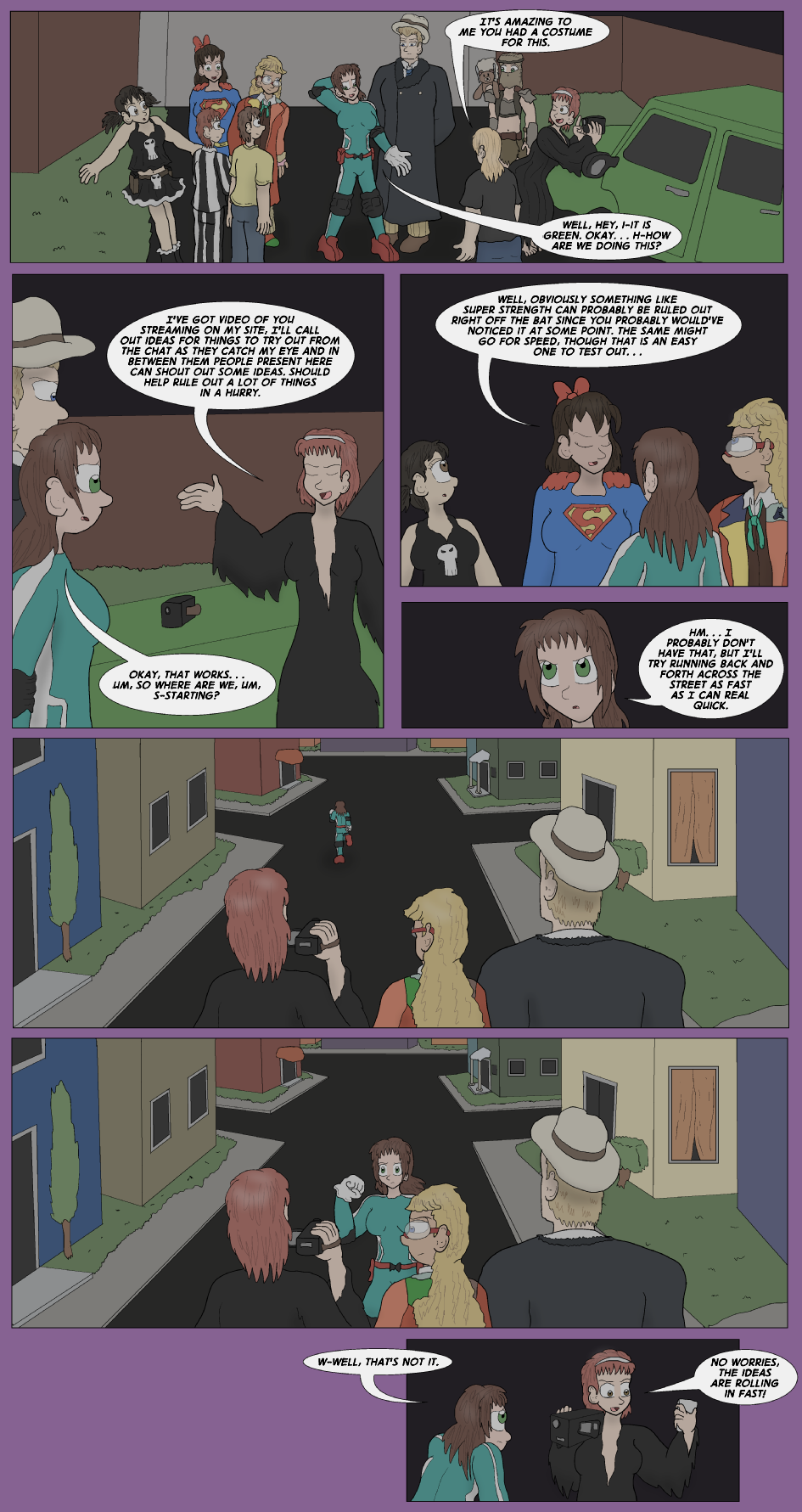 The DeKalb County Public Access Halloween Special, Page 30