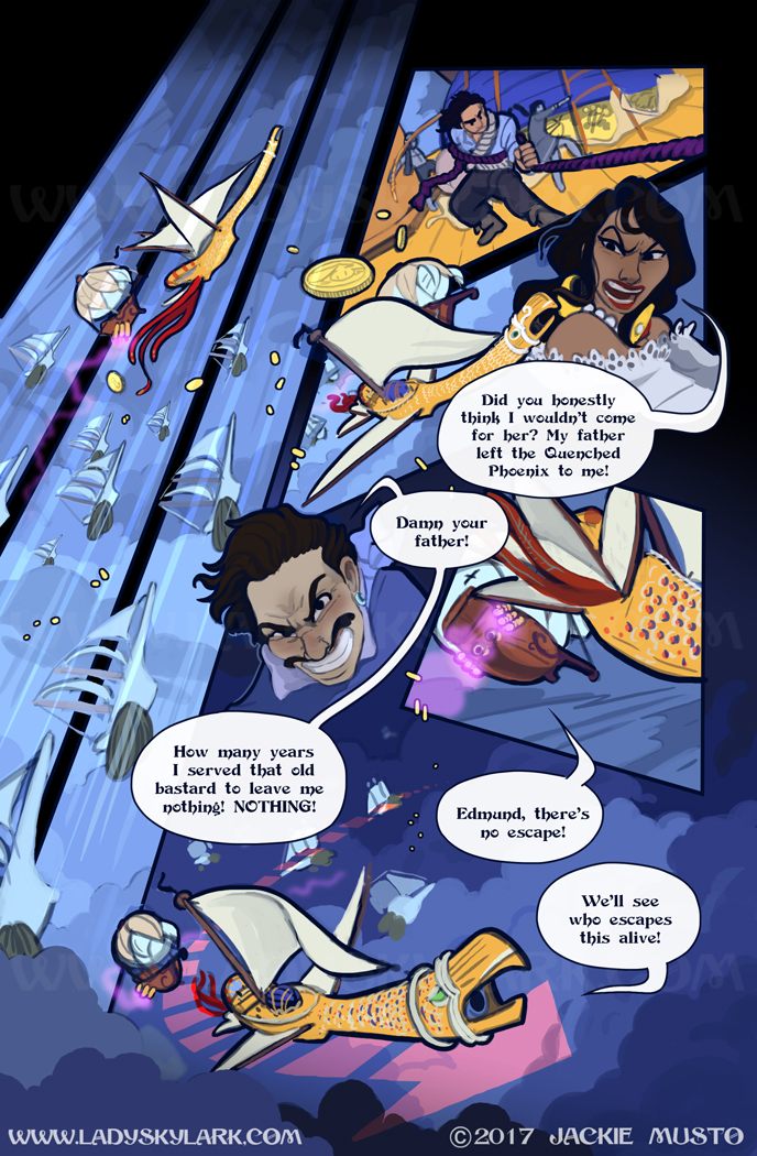 Lady Skylark and the Queen's Treasure - Page 255