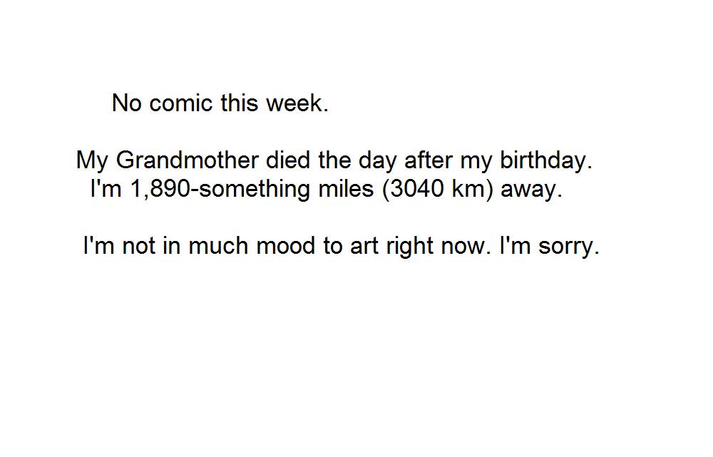 No Comic This Week