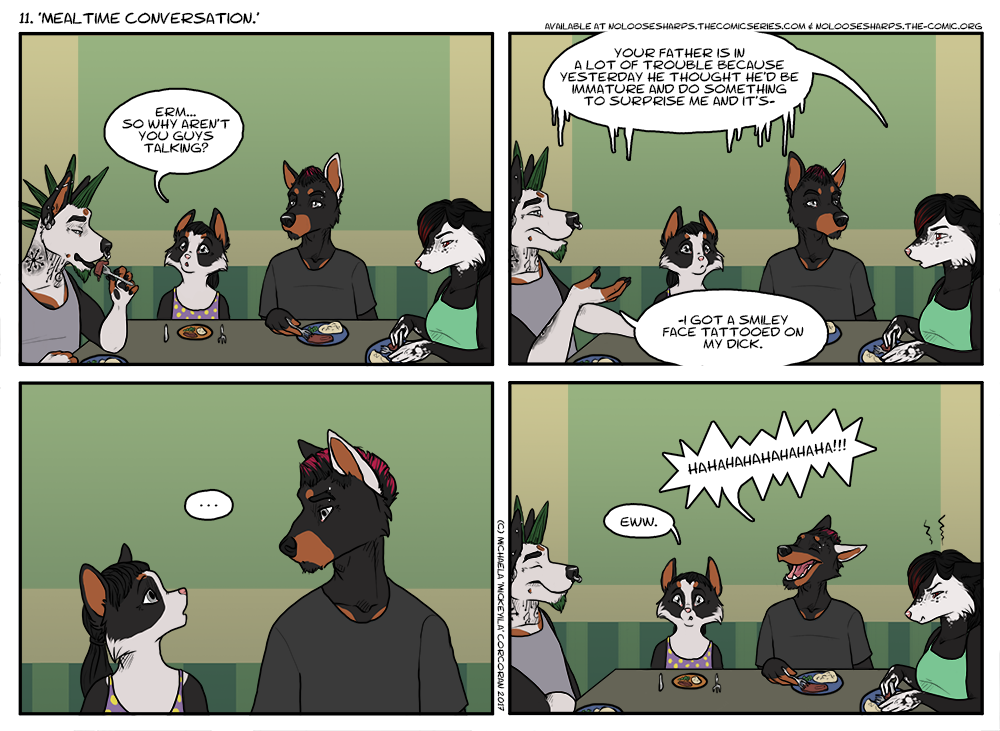 11. Mealtime Conversation