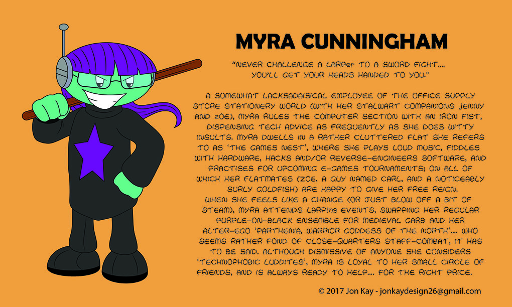 Meet: Myra Cunningham!
