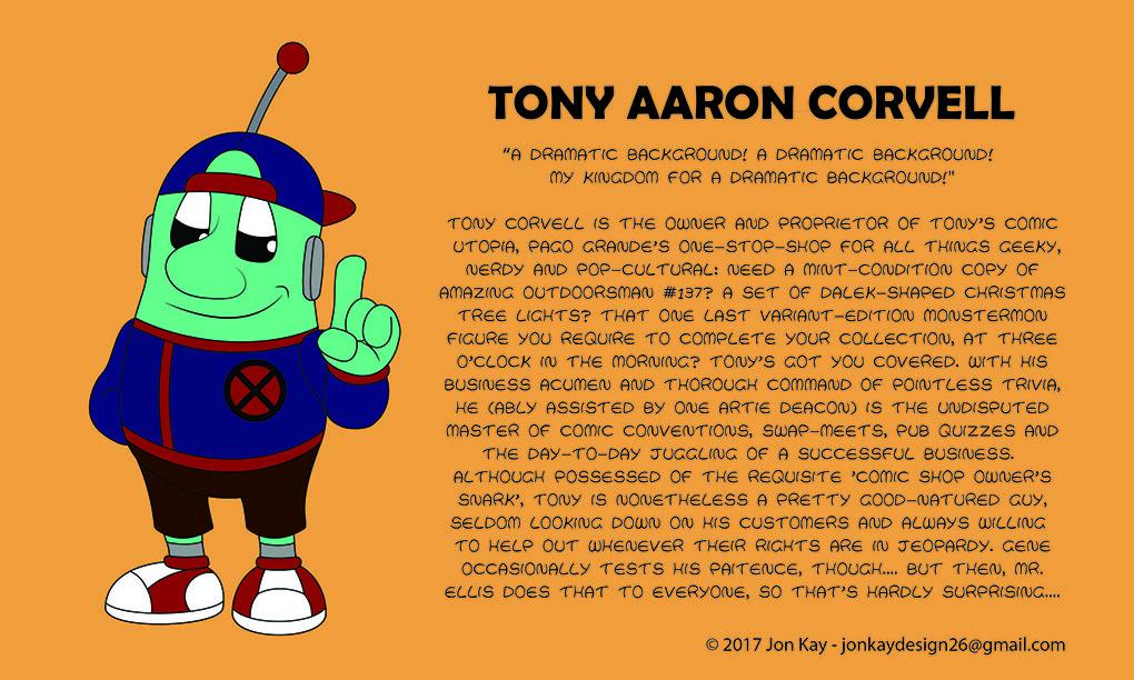 Meet: Tony Corvell!