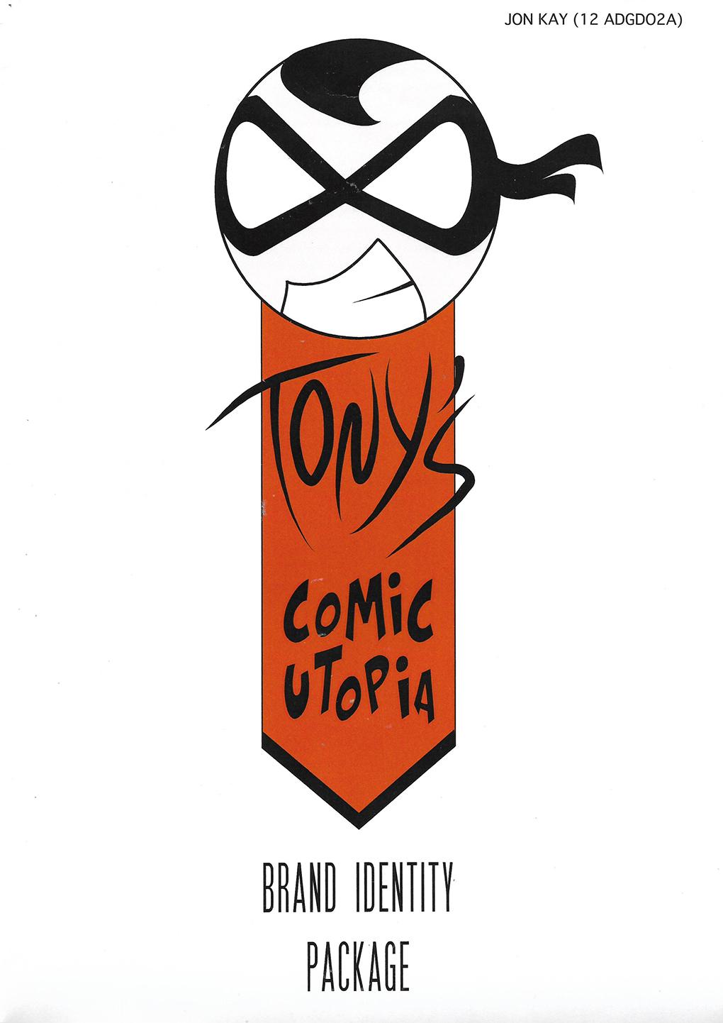 Design School: Tony's rebrand 1