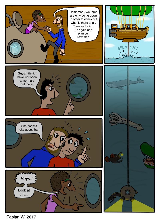 The Wonders of the Deep Sea