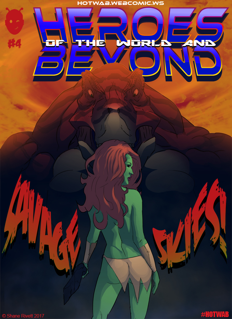 Issue #4 Standard Cover