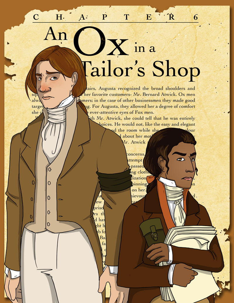 Chapter 6- An Ox in a Tailor's Shop