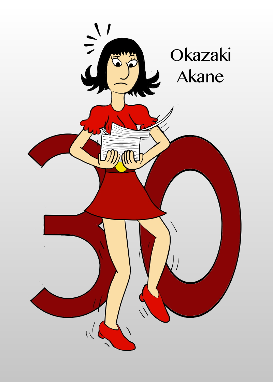 # 30: Okazaki Akane