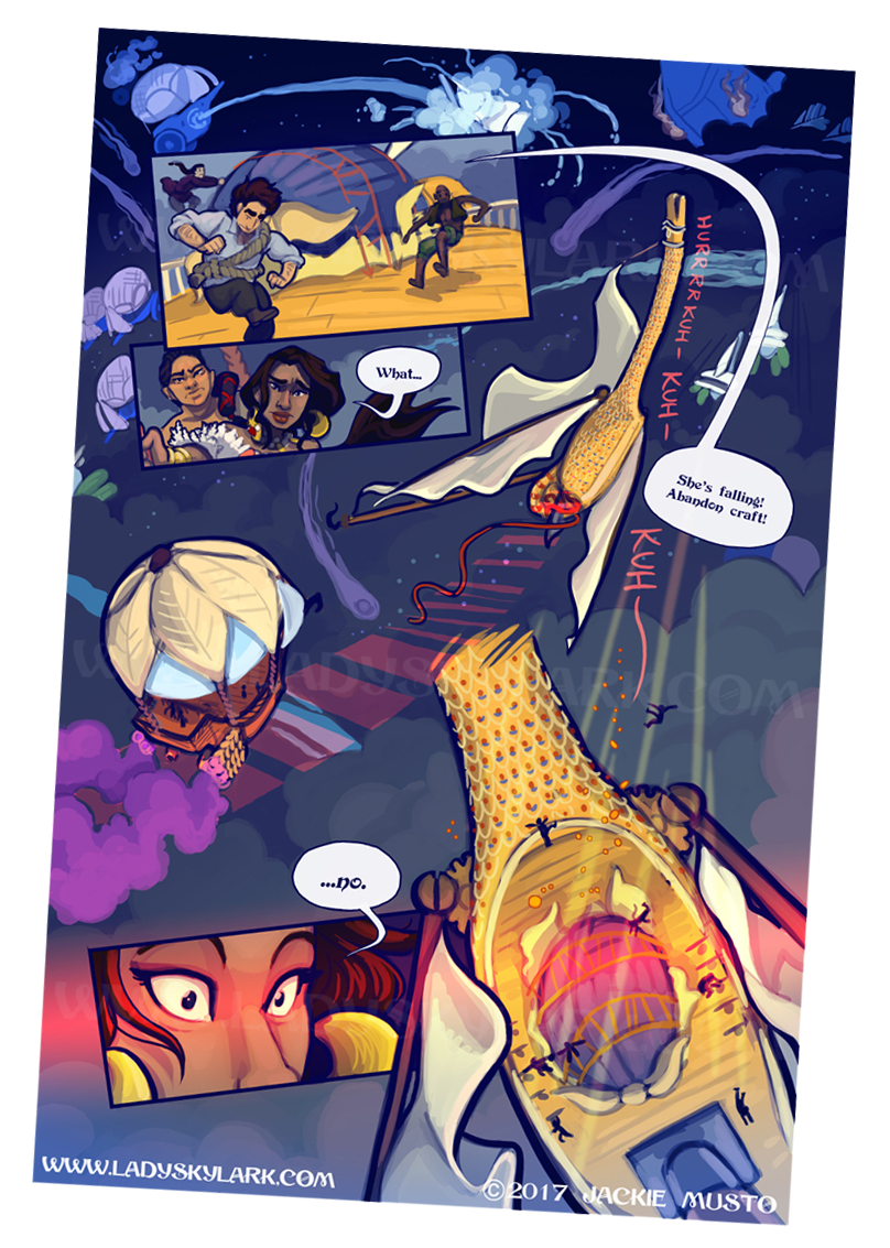 Lady Skylark and the Queen's Treasure - Page 261