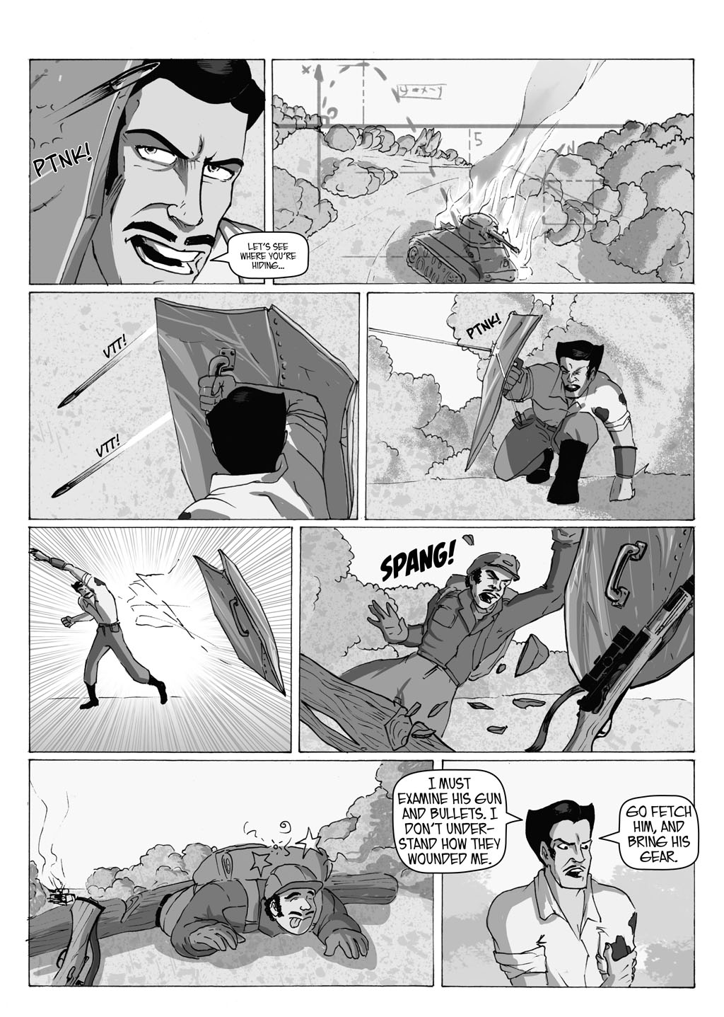Filler: Portent Universe - Professor Paradigm in Ten Thousand Times (Page 10)