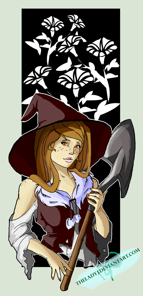 Shovel Witch commission