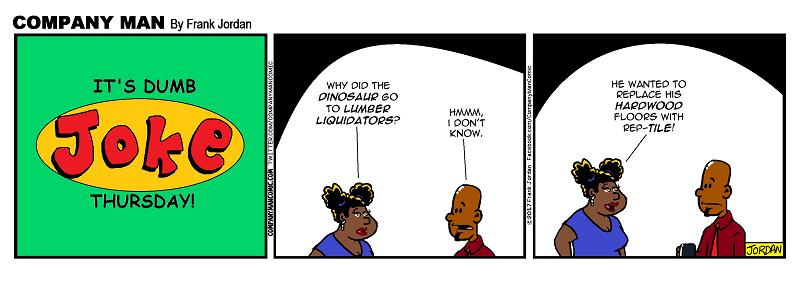 It's #DumbJokeThursday! 5/11/17