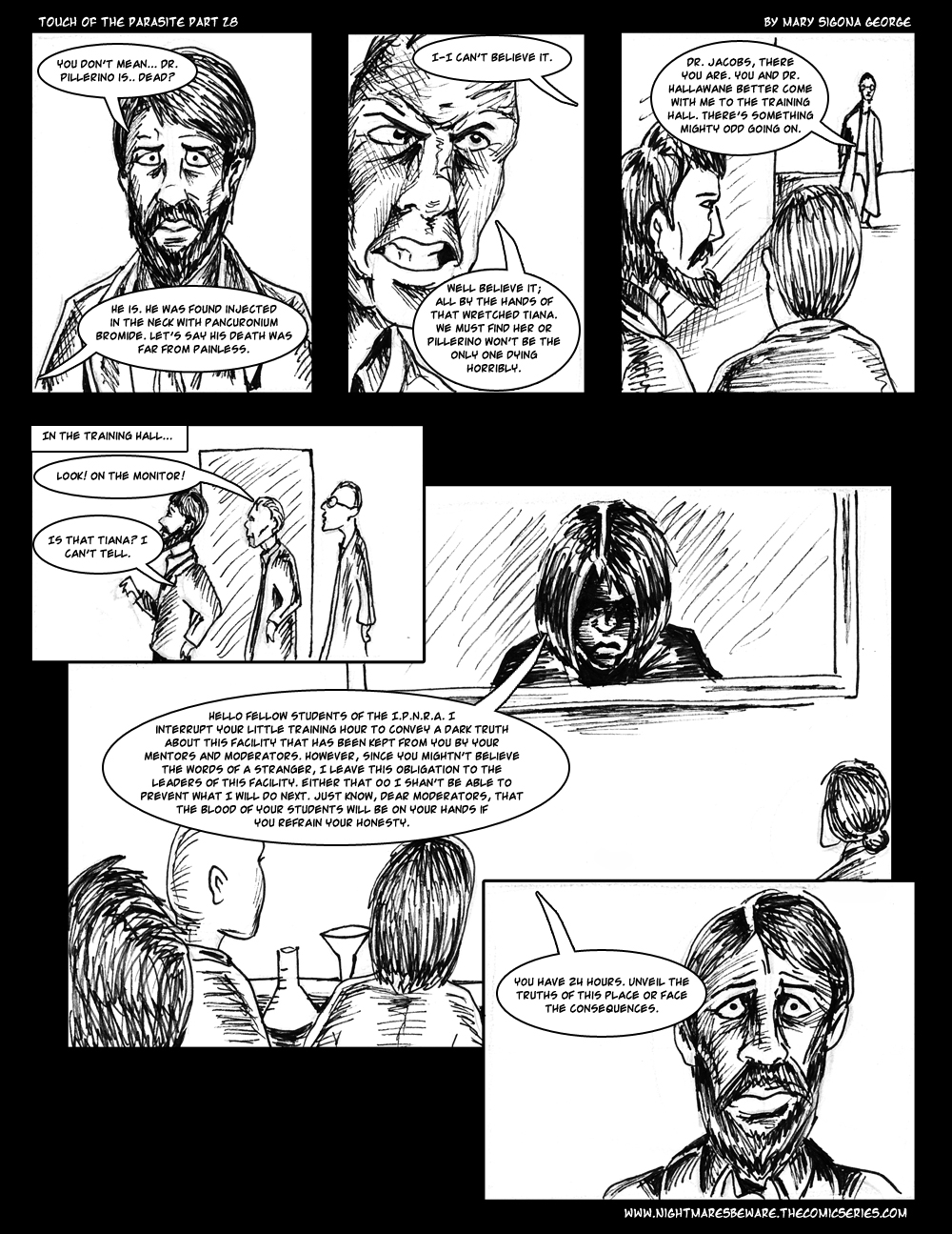 Touch of the Parasite: Part 28