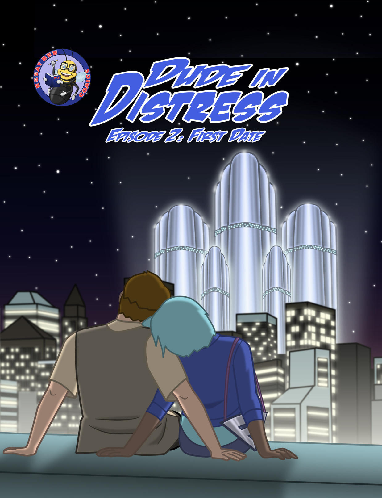 Dude in Distress Episode 2 Cover