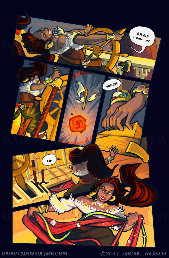 Lady Skylark and the Queen's Treasure - Page 269