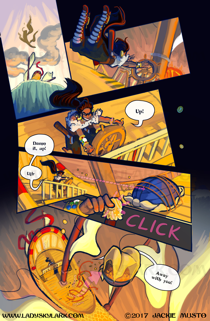 Lady Skylark and the Queen's Treasure - Page 268