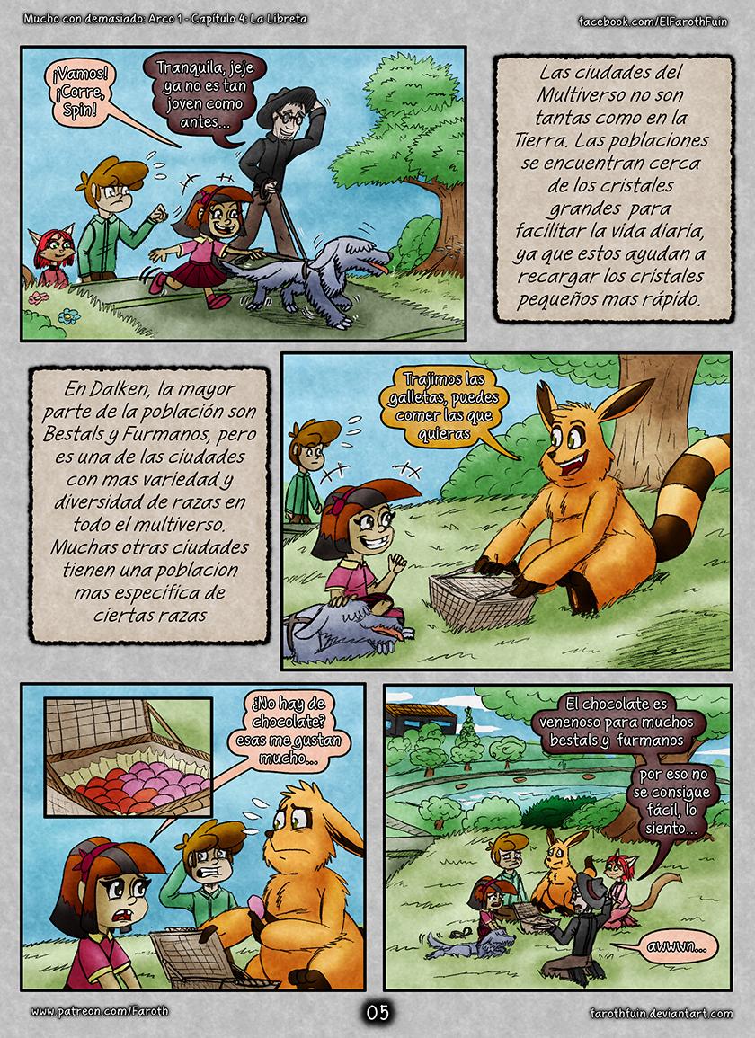 Cap 4 - Pag 05: Furmanos y Bestals