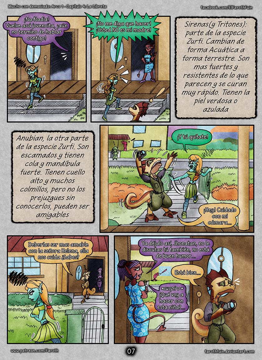 Cap 4 - Pag 07: Sirenas y Anubian
