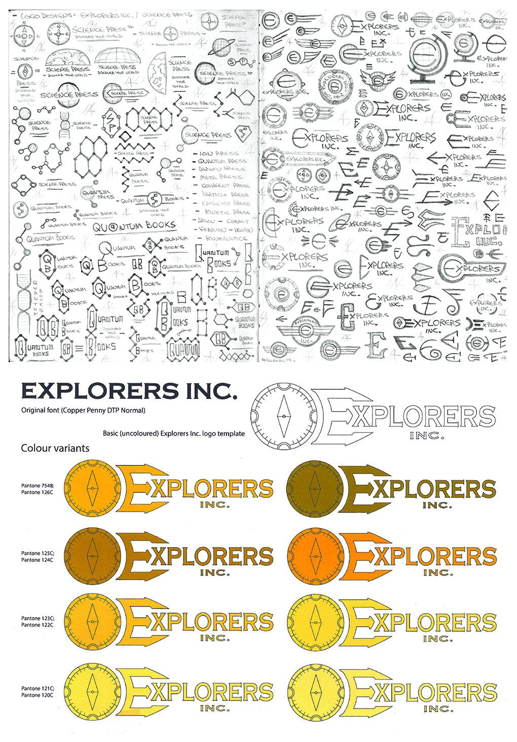 The Explorers Inc. logo!