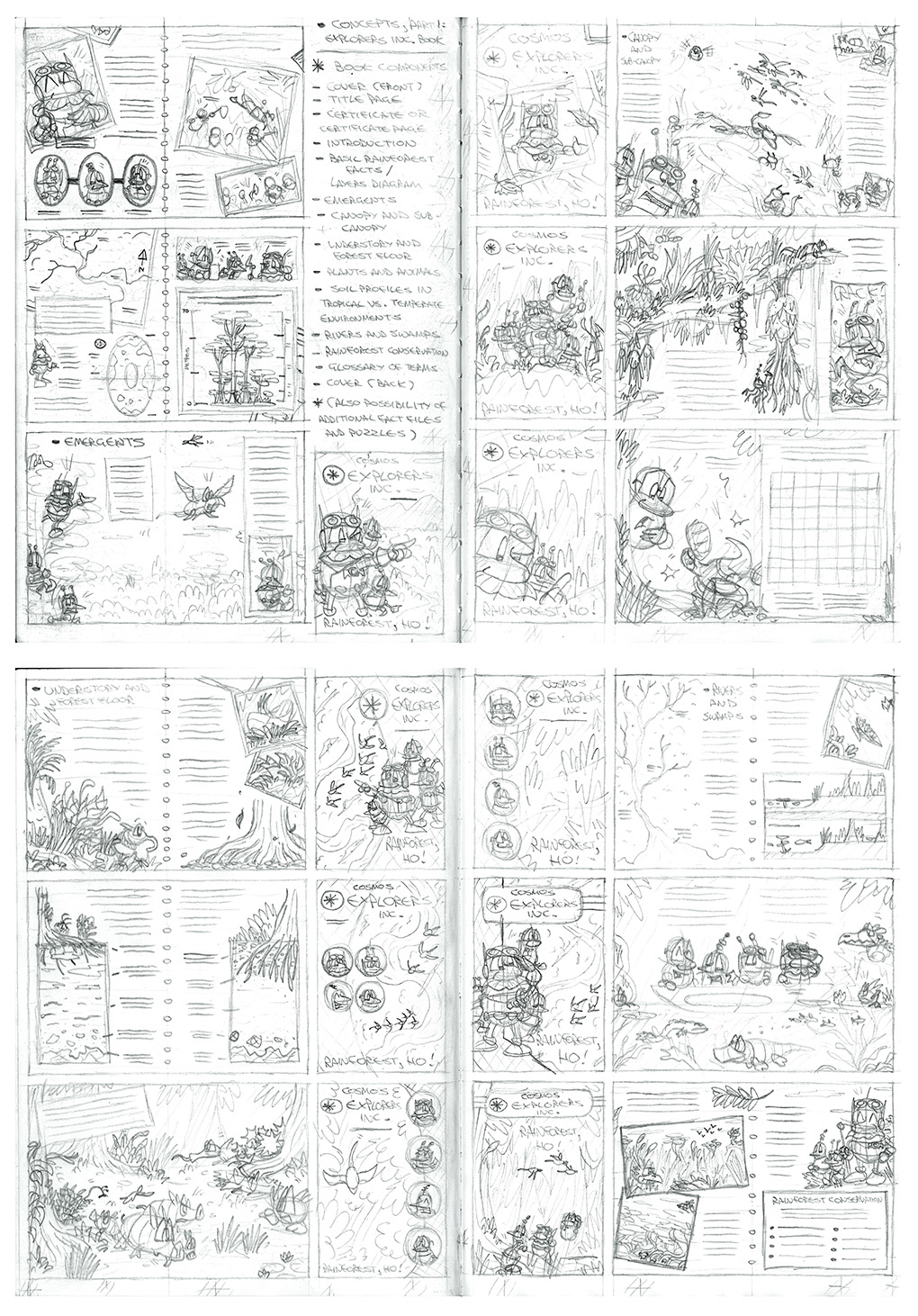 Adventure pack book concepts 1