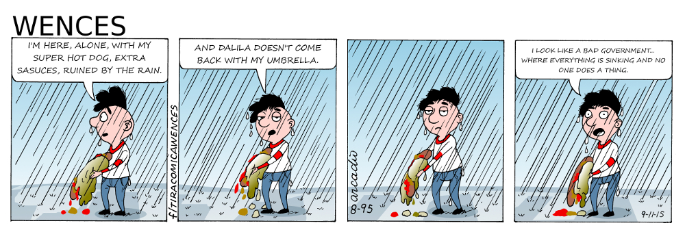 Wences Comic Strip