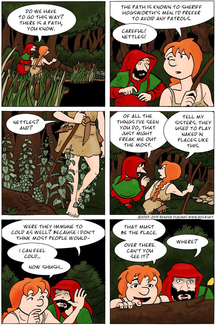 Watch the nettles