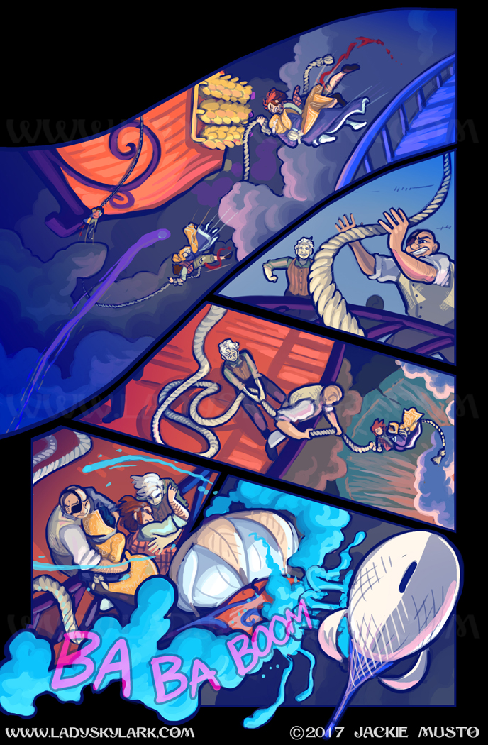 Lady Skylark and the Queen's Treasure - Page 274