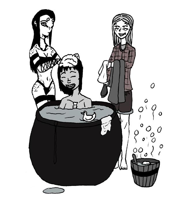 15. Bubblebath