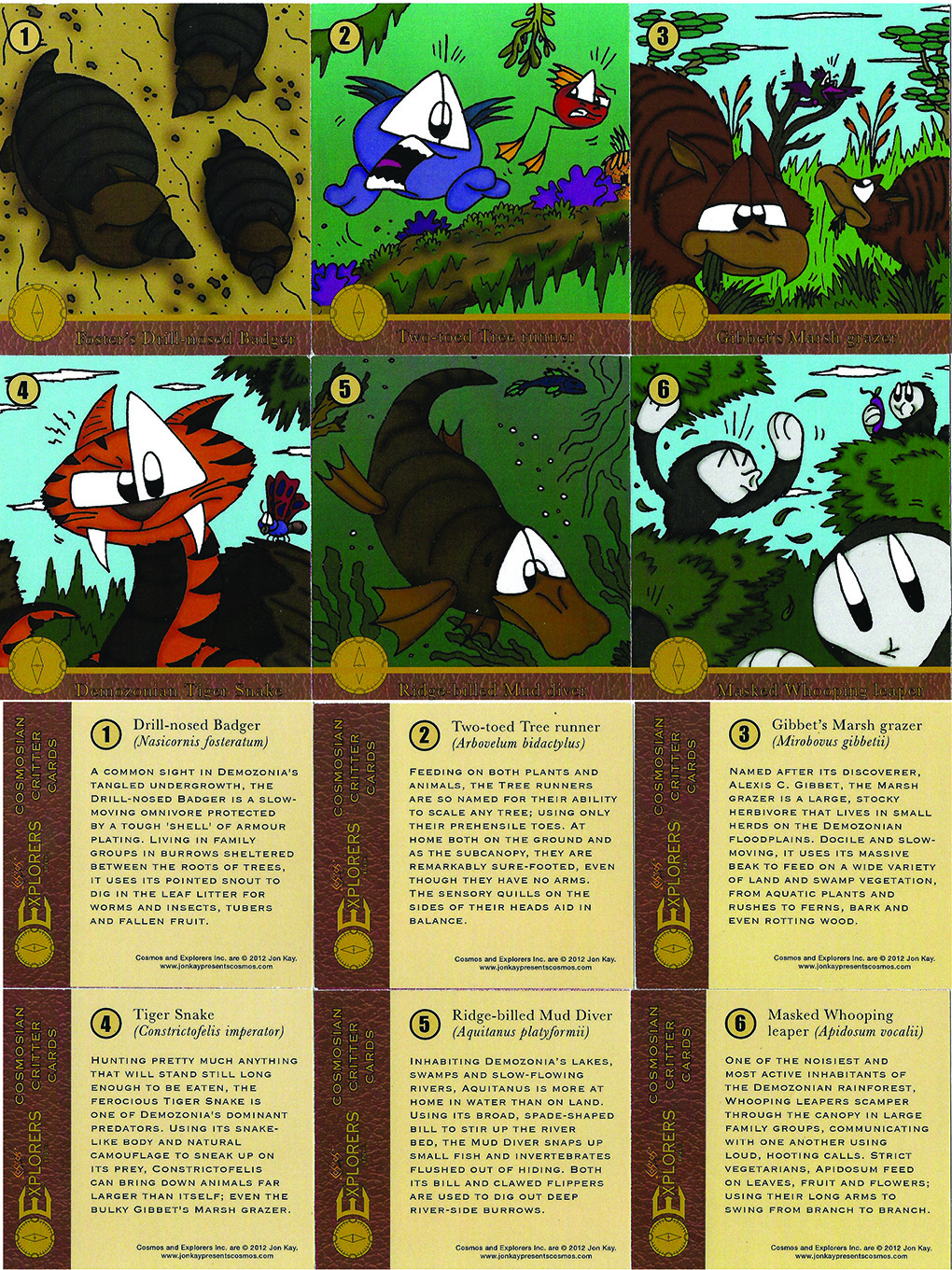 Critter cards 2